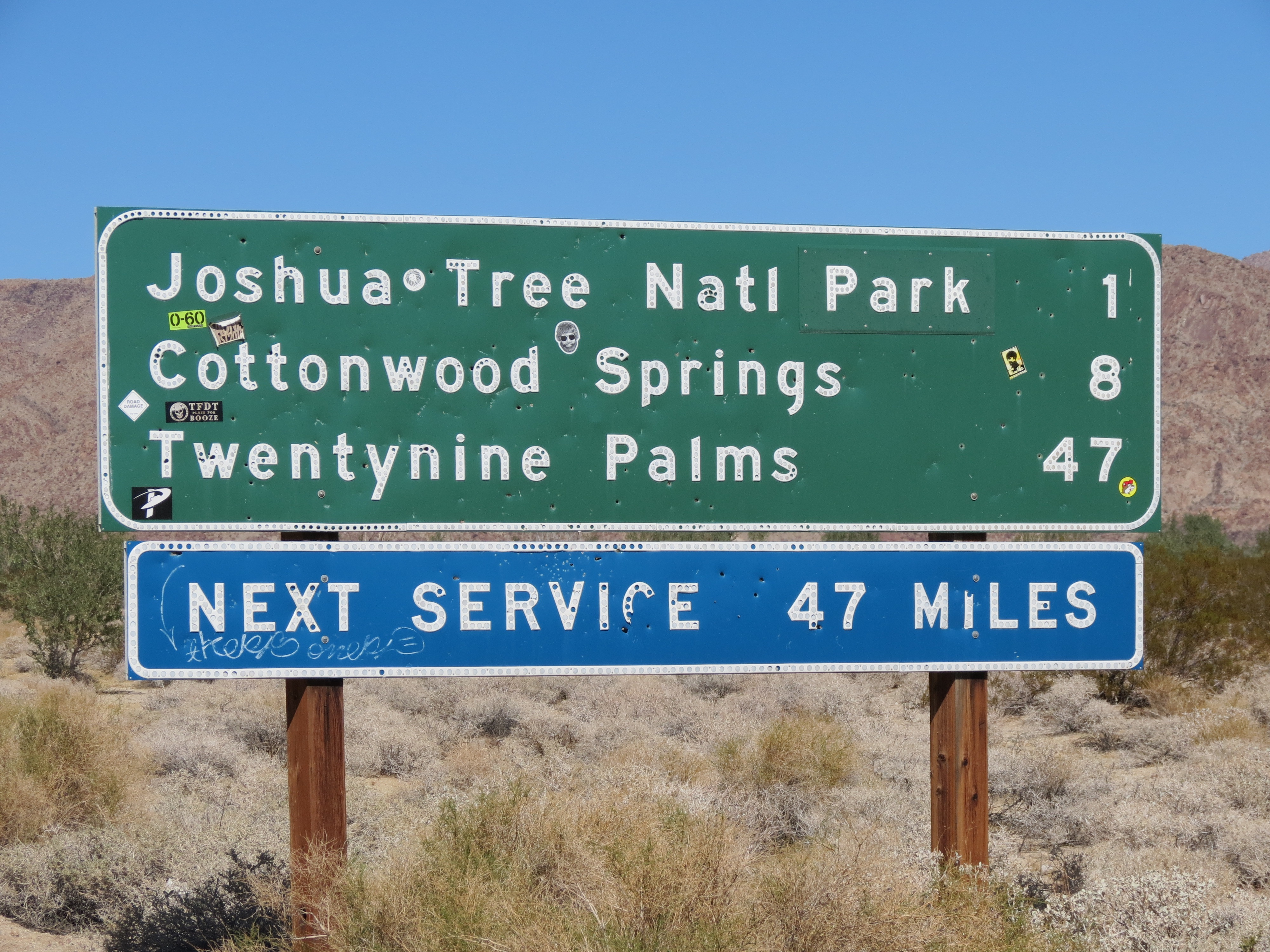 Friend of mine just visited JTSP. Why is the \'Park\' in Joshua Tree ...