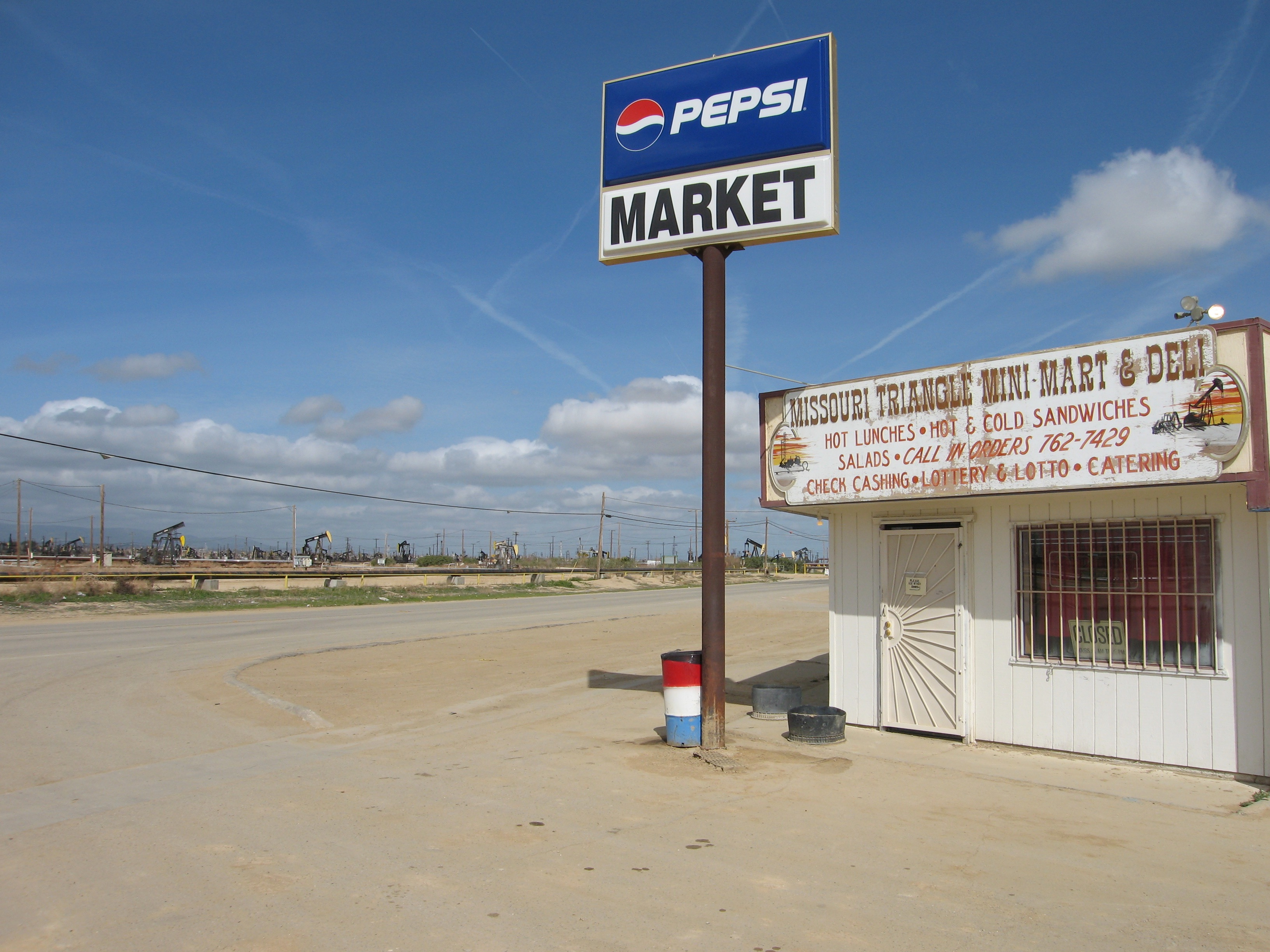 Photos Of Mckittrick Taft Highway 33 Chemtrails