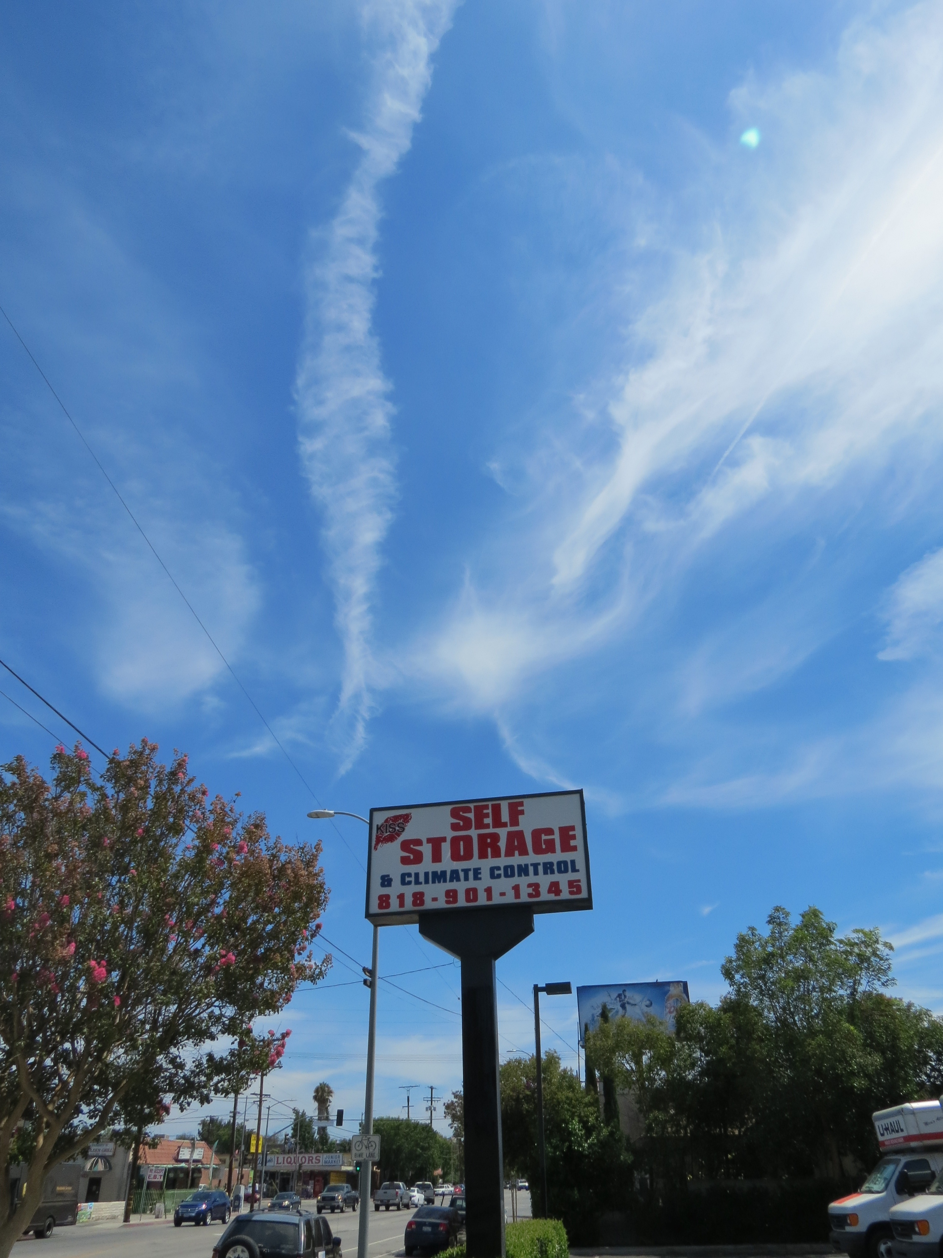 Van Nuys, California - Chemtrails - Los Angeles Modern Auctions Lama -7155
